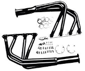 Tiger Mild Steel Headers - Pair
